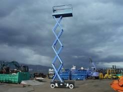 Электрический самоходный ножничный подъемник Aichi (Япония), 7.9 метра