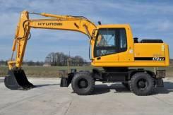 Услуги пневмоколёсного экскаватора Hyundai R170W-7