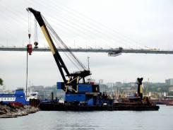 Аренда Плавучего крана (Плавкран) 100 тонн в Петропавловске-Камчатском