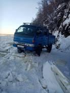 Toyota ToyoAce. Продается грузовик на мостах двухкабинник 2000 г. в., 3 000куб. см., 1 000кг., 4x4