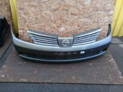 Бампер передний Nissan Tiida Latio