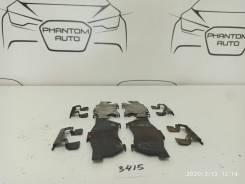 Прижимная пружина суппорта Honda FIT GD1 Front