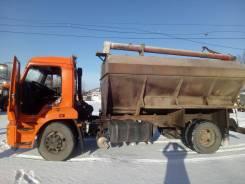 КамАЗ. ЗСК 15 на базе Камаз 475102 Загрузчик сухих кормов 2014 г., 6 700куб. см.