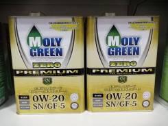 Моторное масло Molygreen 0W20 zero premium 4л.