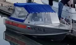 Катер алюминиевый Wellboat-53 + Suzuki 90 4т (комплект 2013 г. в. )