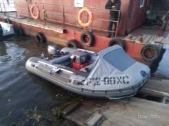 Продам лодку ПВХ бу. Антей380 Ямаха 30