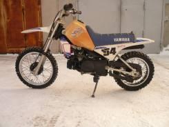 Yamaha PW80. 80куб. см., исправен, птс, с пробегом