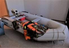 Лодка ПВХ DONG SEO SD 330 (Ю. Корея) с мотором Johnson 15