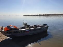 Windboat. 2014 год, длина 4,65м., двигатель подвесной, 30,00л.с., бензин