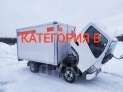 Mitsubishi Fuso Canter. Грузовой фургон , 2 800куб. см., 2 500кг., 4x2