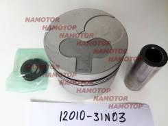 Поршень ДВС Nissan TD27-T ком-кт 4шт STD 12010-31N03, 12010-05D00, 12010-05D10, 12010-31N02, 12010-31N12, 12010-31N13, 12011-31N03. Alfin- , с охл-ем дна.