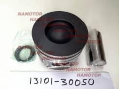 Поршень ДВС Toyota 1KD -FTV 0.5 13101-30050, 13101-30060, 13101-0W030, 13101-0L030, 13101-30200, 13101-30150, 13101-0L080. (D камеры=51,6мм). Alfin- , с охл-ем дна. комп-кт