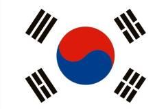 Флаг Ю. Кореи 135х90мм