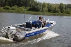 """Лодка моторная Салют-430 в комплектации """"Scout"""", Тр380."""