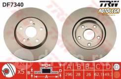Диск тормозной п. TRW Toyota Camry V40 06-, RAV-4 ACA3# 05-, Mark X, Blade