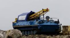 Бурспецтехника УРБ-4Т. Продается Буровая установка УРБ-2Д2 на шасси МТЛБу, 2020 г. в., 14 860куб. см., 20 000кг.