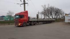 Scania R420. 6x2 + п/п тонар 16,5 м, 6x2