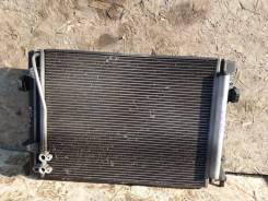 Радиатор кондиционера оригинал! VW Passat B6 Левыйруль