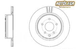 Диск тормозной задний G-brake Infiniti FX35/45 Nissan Murano Z50/51