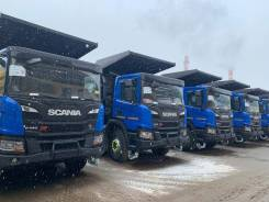 Scania. Самосвал P440B8x4HZ-25 и 28 m3, 12 740куб. см., 32 000кг.