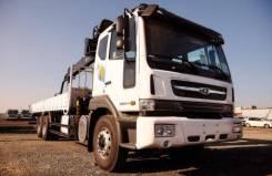 Daewoo Novus. Бортовой-грузовой(воровайка) 15 т , 6*4 с КМУ HIAB 190TM, 15 500кг., 6x4