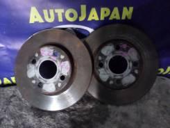Тормозной диск передний Toyota Corolla Spasio ZZE124 б/у 43512-12620