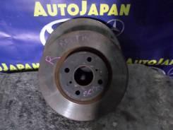 Тормозной диск передний Toyota Ractis SCP100 б/у 43512-52130