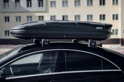 Бокс на крышу авто NOBU Cross 380 (Черный)