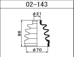 Пыльник привода Maruichi   Maruichi 02143   [02143]