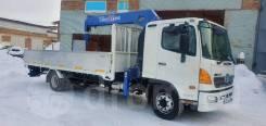 Hino 500. Бортовой - грузовой (воровайка) HINO 500 4364C1, 4*2 с КМУ Tadano, 8 000куб. см., 5 500кг., 4x2