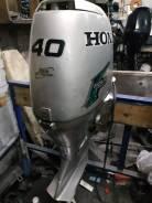 Honda. 40,00л.с., 4-тактный, бензиновый, нога S (381 мм), 2005 год