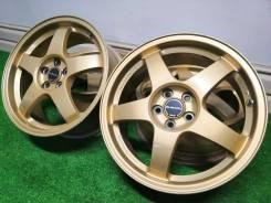 Subaru STI - Оригинальные кованные диски от Rays - R17*7