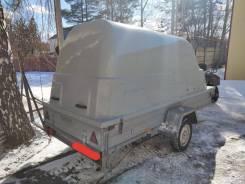 Прицеп для снегохода с крышкой. Г/п: 550кг., масса: 700кг.