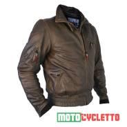 Мотокуртка Motocycletto Topgun, Кожаная