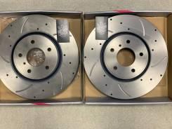 Диски тормозные перфорированные передние Infinity G-brake