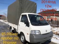 Nissan Vanette. Грузовик 2014год12мес, 1 800куб. см., 1 250кг., 4x2