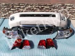 Комплект Рестайлинга Toyota Land Cruiser 200 в 12-2015 год