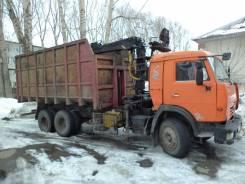 КамАЗ. Ломовоз (металловоз), 11 760куб. см., 10 000кг., 6x4
