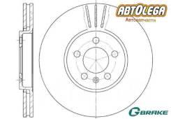 Диск тормозной перед. G-brake VW POLO 10-/Skoda Octavia 96-10/Rapid 12-