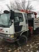 Hino Ranger. Продам грузовик-манипулятор 1990 г. в., 8 000куб. см., 5 000кг., 4x4