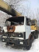 Ивановец КС-3577. Продаётся автокран МАЗ 5337 КС 35873 с повреждённой кабиной, 11 150куб. см., 22,50м.