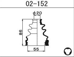 Пыльник ШРУСа внутреннего Maruichi 02152