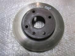 Диск тормозной передний вентилируемый Chevrolet, Daewoo, Ravon Lacetti