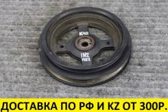 Контрактный шкив коленвала Toyota 1NZ/2NZ. 2 Ремня. Оригинал