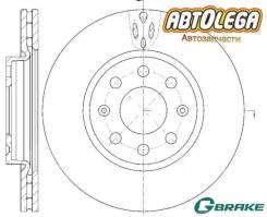 Диск тормозной передний G-brake OPEL Corsa D 06-/FIAT Punto