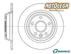 Диск тормозной G-brake LAND Rover Evoque/FORD Galaxy 06-/KUGA 08-12