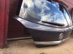 Крышка багажника синяя Opel Astra H 5d hatchback