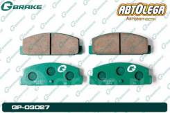 Колодки зад. G-brake Mazda Familia BG/BJ Premacy GP# Capella GD#GG#/GF#