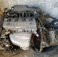 Двигатель в сборе. Toyota Corolla Spacio 4AFE