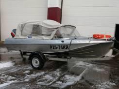 Продам катер лодку Казанку 5м3 с двигателем Yamaha enduro 40